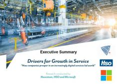 Drivers for Growth in Service - Executive Summary